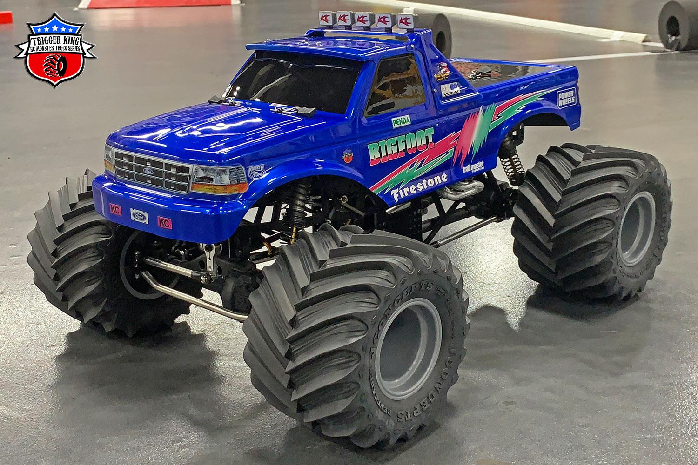 Bigfoot Pink Teal Sport Mod Trigger King R C Monster Trucks